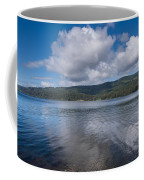 Afternoon Clouds Over Big Lagoon Coffee Mug