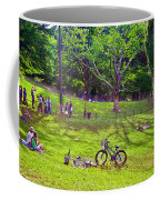 Afternoon In The Park With Friends Coffee Mug