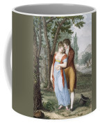 Afternoon Near St. Gervais, Engraved Coffee Mug