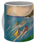 Afternoon Regatta By Jrr Coffee Mug by First Star Art