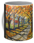 Afternoon Shadows By Prankearts Coffee Mug