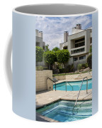 Afternoon Swim Palm Springs Coffee Mug by William Dey