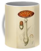 Agaricus Mushroom By Sowerby Coffee Mug by Philip Ralley