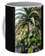Agave And African Violets Coffee Mug