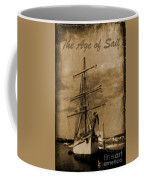 Age Of Sail Poster Coffee Mug by John Malone Halifax photographer