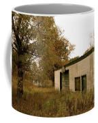 Aged Basketball Court Coffee Mug