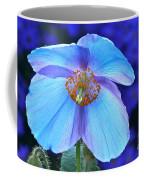 Aglow In Blue Wide View Coffee Mug