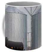 Agricultural Grain Silos Exterior Railway Wagon Coffee Mug