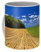Agricultural Landscape - Young Corn Field Coffee Mug