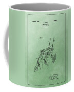 Agriculture Plow Patent Coffee Mug