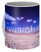 Ahu Tongariki Infrared Coffee Mug