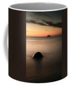 Ailsa Craig Sunset Coffee Mug