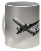 Air Canada Boeing 767 Monochrome Coffee Mug
