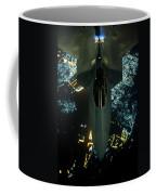 Air To Air Refueling At Night Coffee Mug