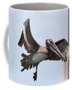 Airborne Brown Pelican Coffee Mug