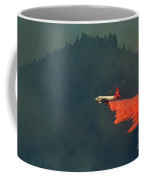 Aircraft Releasing Fire Retardant Coffee Mug