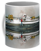 Airplane Crash Drill Landscape Altered Version Coffee Mug