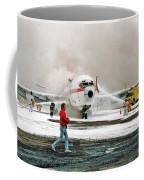 Airplane Crash Drill Landscape Coffee Mug