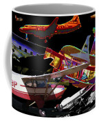 Airplanes Collage  Coffee Mug