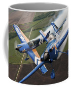 Airplanes Perform At The Sound Of Speed Coffee Mug by Stocktrek Images