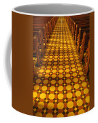 Church Aisle Patterned Floor Coffee Mug