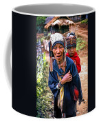 Akha Tribe II Paint Filter Coffee Mug