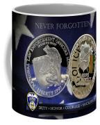 Akron Police Memorial Coffee Mug