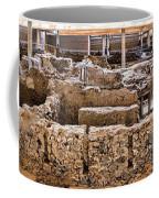 Akrotiri Archaeological Site In Santorini Coffee Mug