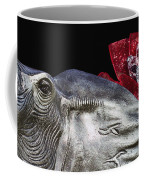 Alabama Football Mascot Coffee Mug by Kathy Clark