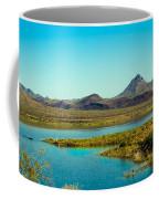 Alamo Lake Coffee Mug by Robert Bales