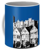 Alamo Square -  Royal Blue Coffee Mug