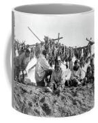 Alaska Drying Fish, C1900 Coffee Mug