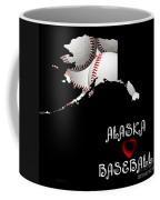 Alaska Loves Baseball Coffee Mug