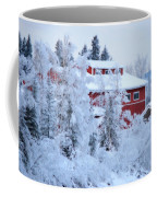 Alaskaland Train Station I Coffee Mug