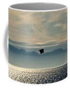 Alaskan Eagle At Sunset Coffee Mug