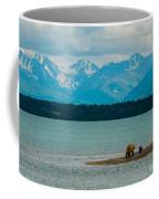 Alaskan Grizzly And Spring Cub Coffee Mug