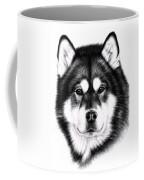 Alaskan Malamute Portrait Coffee Mug