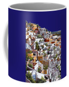 alba a Santorini Coffee Mug by Guido Borelli