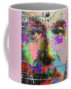 Albert Einstein - Atomic Particles  Coffee Mug