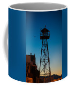 Alcatraz Guard Tower Coffee Mug by Steve Gadomski