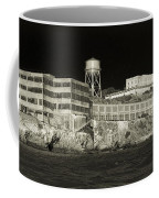 Alcatraz The Rock Sepia 1 Coffee Mug