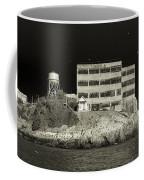 Alcatraz The Rock Sepia 2 Coffee Mug