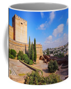 Alcazaba In Granada Coffee Mug