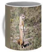 Alert Yellow Mongoose Coffee Mug