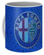 Alfa Romeo Rainy Window Visual Art Coffee Mug