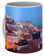 Alfama Rooftops Coffee Mug