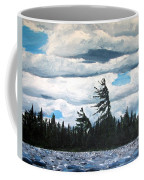 Algonquin Kawawaymog Wendy's Tree Coffee Mug