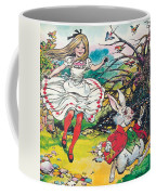 Alice In Wonderland Coffee Mug by Jesus Blasco