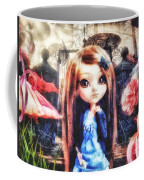 Alice In Wonderland Coffee Mug by Mo T
