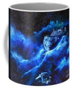 Alien Asteroid Mine Coffee Mug
